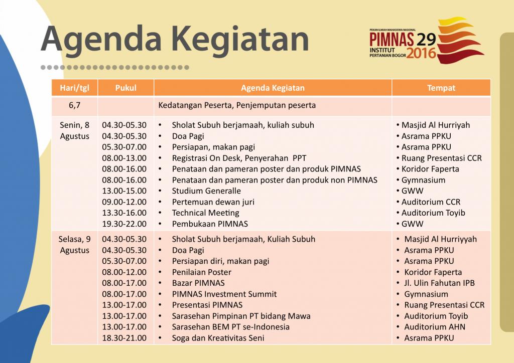 agenda kegiatan pimnas_1